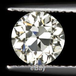 1 CARAT GIA CERTIFED VS1 OLD EUROPEAN CUT DIAMOND VINTAGE ANTIQUE NATURAL 1920s