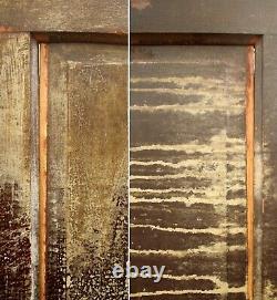30x79 Antique Vintage Victorian Old SOLID Wood Wooden Interior Door 5 Panels