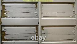 3 available 30x77 Antique Vintage Old SOLID Wood Wooden Interior Door 5 Panels