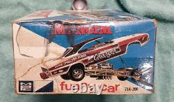 51 year old MPC Mr Norm's 1969 Grand Spaulding Dodge Charger FUNNY CAR unbuilt