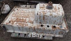 Antique Cast Iron Porcelain 42 Kitchen Farm Sink Drainboard Old Vtg 5039-15