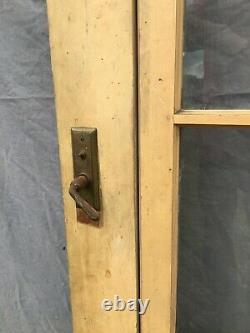 Antique Exterior Screen Storm Door 33x85 Shabby Chic Porch Old VTG 716 -21B