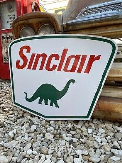 Antique Vintage Old Style Sinclair Sign
