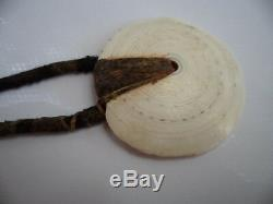 Antique Vintage Png Toea Shell Currency Bush Twine Old Necklace Papua New Guinea