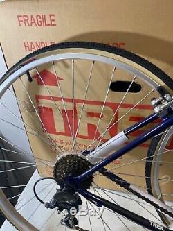 NEW OLD STOCK Blue Green Vintage 1995 Trek 720 21 700c Steel Hybrid Bicycle