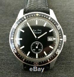 NOS Jean Louis Fresard Mechanical Dive Watch New Old Stock
