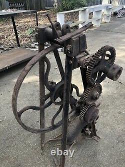 Old Antique Champion Blower & Forge Co Blacksmith Tool Vintage Blacksmith Tool