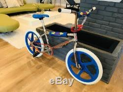 Old school Redline bmx with GT performer mags Vintage Classic Bike