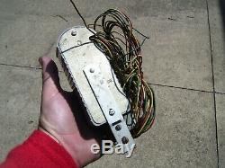 Original 1950' s Vintage Barton Life-Saver rear window brake light Rat Hot rod