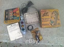 Original 1950' s Vintage Stadco Life-Saver rear window brake light Rat Hot rod