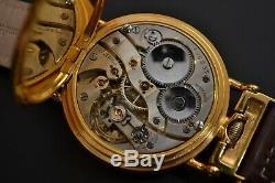 Rolex pilots old chronometer vintage men's military WW2 Dennison antique trench