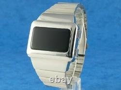 SILVER ELVIS WATCH 1 Old Vintage 70s Style LED LCD DIGITAL Rare Retro omeg@ TC2