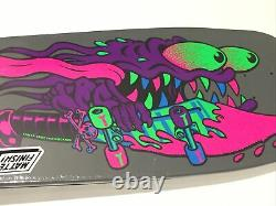 Santa Cruz Reissue Meek Slasher Blacklight Old School Skateboard Deck Re-issue