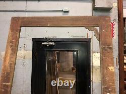 Vintage screen door Victorian age Old patina 85 h x 34 3/8 x 7/8 solid