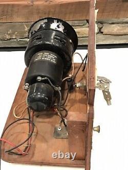 Vtg Jubilee Siren Horn Alarm Police Fire Hot Rod GM Chevrolet Ford Mopar Display