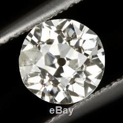 0.80ct Vieux Mine Cut Diamond Anciennes Naturel 3/4 Européenne Carat Loose Omc