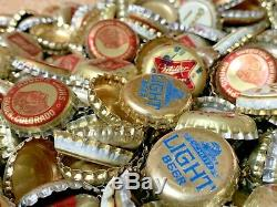 1245 Énorme! Lot De Bouteilles Vintage Beer Caps Olympia Miller Coors Vieux Antique Vtg
