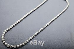 1940 Antique 60 000 $ 25ct Old Mine Cut Collier Euro Diamond Platinum 16 Wow