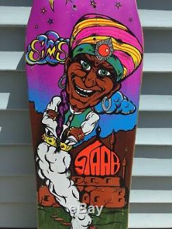 1989 Sims Kevin Staab Genie Puissant Skateboards Vintage Old School
