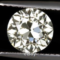 1,82 Gia Certifié Vs1 Old European Art Antique Diamond Cut Vintage Deco 2 Carat