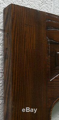 34x80 Antique Vintage Vieux Solid Bois De Châtaignier Extérieur Porte D'entrée En Bois Fenêtre