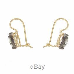 4.00ct Ttw Boucles D'oreilles Old Cut Européenne Antique Diamant