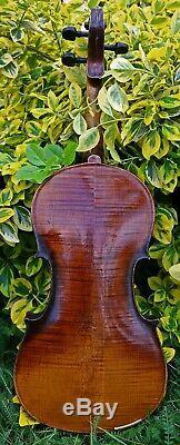 4/4 Fine Ans 100+ Antique Violon Avec Le Son, Marqué Aegidius Kloz