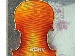4/4 Violon Guarneri Européen 1742 Modèle Antique Style Ancien Ton Gentil
