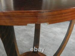 Antique Old Table De Table En Bois Art Déco Vintage Canapé En Bois Siècle Victorien