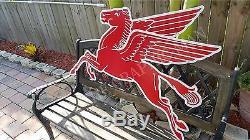 Antique Vintage Old Mobil Pegasus Sign Garage Décor-reproduction