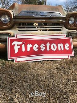 Antique Vintage Old Style Firestone Pneus Connexion