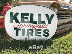 Antique Vintage Old Style Kelly Springfield Pneus Connexion