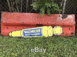 Antique Vintage Old Style Monroe Shock Signe