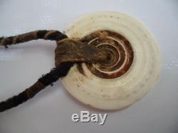Antique Vintage Png Toea Shell Monnaie Bush Ficelle Vieux Collier Papouasie-nouvelle-guinée