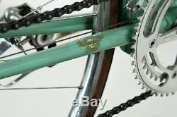 Bianchi Specialissima Campagnolo Nuovo Steel Road Bike Fiche Vintage Cosses Vieux