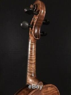 C. 1888 Wolff Brothers No. 518 4/4 Pleine Violon Vintage Antique Fiddle