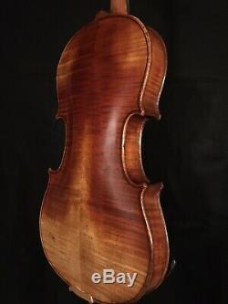 C. 1890-1910 Jacobus Stainer 4/4 Pleine Violon Vintage Antique Fiddle
