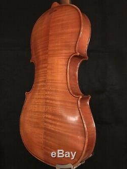 C. 1890-1920 Jacobus Stainer 4/4 Pleine Violon Vintage Antique Fiddle