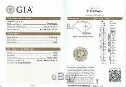 E Vvs2 Vieux European Cut Diamond Certifié Gia Anciennes 4.8mm Mobilisation