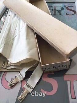 Edwardian La Reine 1900 Corset Old Stock In A Box