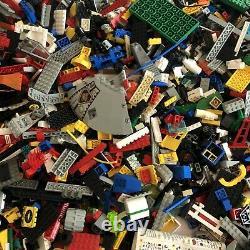 Énorme Lego Vintage System Job Lot Bundle Star Wars Space Old Grey Parts 10.7 KG