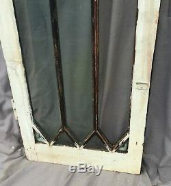 Fenêtre Antique Diamant Sash Motif Vieux Shabby Chic Cottage Garden Vtg 1156-1116