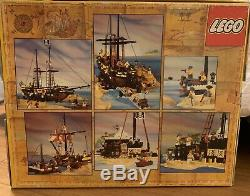 Lego Original 31 Year Old Pirates De La Mer Noire Barracuda (6285)