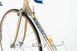 Maggini Picchio Campagnolo Nuovo Super Record Steel Road Racing Vieux Vieux Vélo