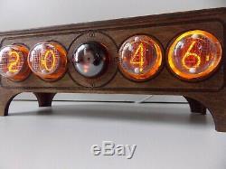 Nixie Tube Horloge In4 Bureau Table Decatron Rétro Vieille Horloge Vintage Pour Chambre