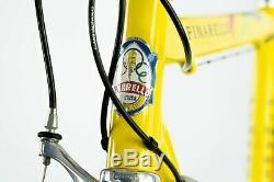 Nos Pinarello Paris Chorus Campagnolo Road Bike Vintage Ancien En Acier Aluminium