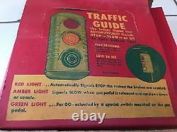 Nos Vintage Traffic Guide De Lumière Pour Votre Truck Stop Car Antique New Old Stock