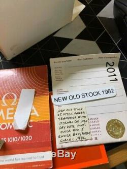 Omega Seamaster Tv White Dial New Old Stock 1982