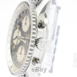 Poli Breitling Old Navitimer Automatique En Acier Mens Watch A13022 Bf505558