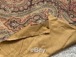 Ralph Lauren Plaid Tissu Matériel Tissu Vintage Antique Couture Sur Mesure Sew